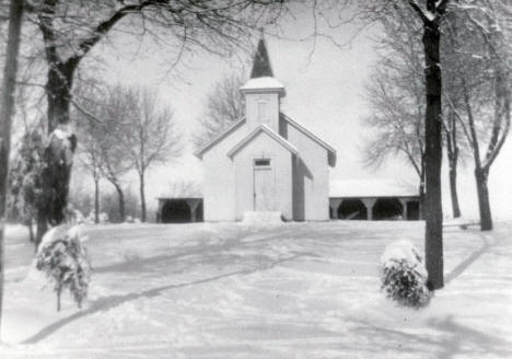 Scandia Baptist Church, Waconia Minnesota, 1940