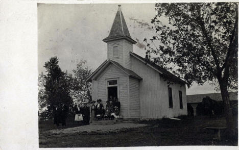 Scandia Baptist Church, Waconia Minnesota, 1912