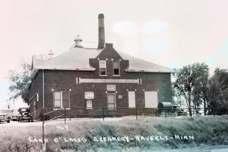 Land O' Lakes Creamery, Waverly Minnesota, 1940's