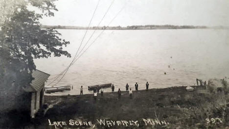 Lake scene, Waverly Minnesota, 1930's