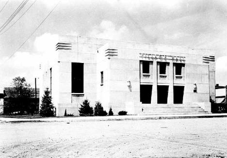 Village Hall, Waverly Minnesota, 1940