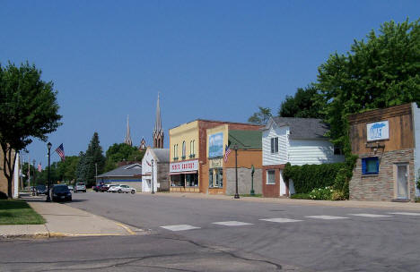 Street scene, Waverly Minnesota, 2012