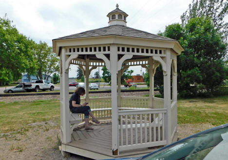 Gazebo, Waverly Minnesota, 2020