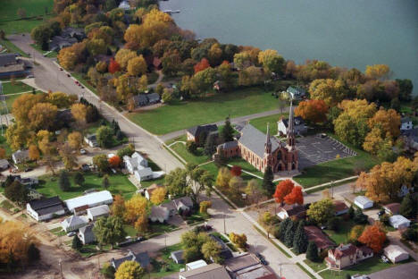 Aerial view, Waverly Minnesota, 2013