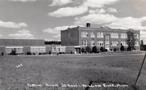 Public High School, Willow River Minnesota, 1950's