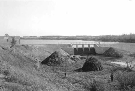 Willow River Dam, Willow River Minnesota, 1940