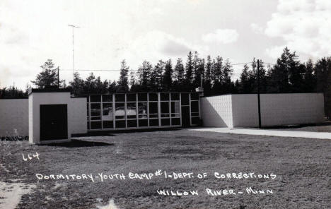 Doritory at Youth Camp #1, Department of Corrections, Willow River Minnesota, 1960's
