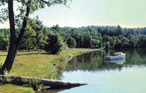 Beaver Pass Resort, Wilton Minnesota, 1950's