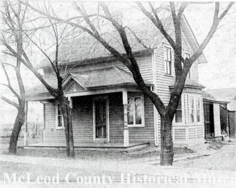 Home of Rebekah Lillienthal, Plato Minnesota, 1910's